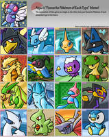 Pokemon Type Meme by Zenfyre