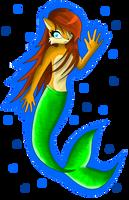 Comm - Sally Acorn Mermaid by SapphiresFlame