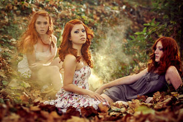 Nymphes of the automne by foto-graf-hi