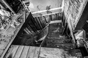 Zombie Stairs by AimeeDouglass