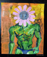Flower dude by 0becomingX
