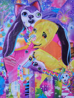 Lisafrank collage by 0becomingX