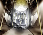 Byzantine Church by 0becomingX