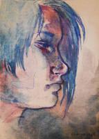 Watercolor by 0becomingX