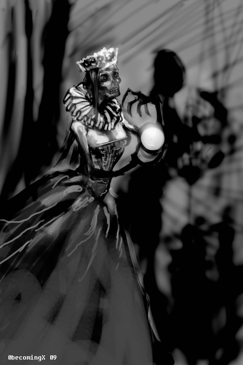 Dead Queen by 0becomingX