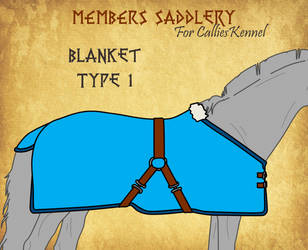 Blanket Type 1 for CalliesKennel by BlueAlexArts
