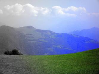 Focal BW Landscape by Aladark
