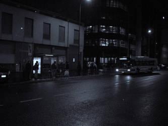 E' tardi, tra poco a casa... by Aladark
