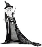 A for Albus Dumbledore by Hellanim