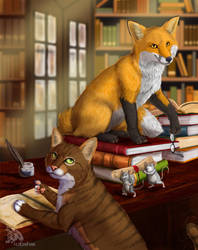 librarians by EosFoxx