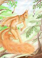 MAgician Squirrel by EosFoxx