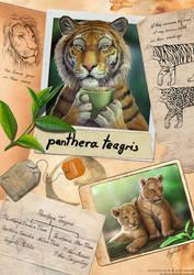 Panthera teagris - the tea tiger by EosFoxx
