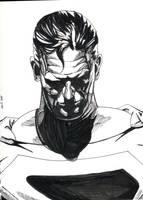 Superman Ross Practice by NickMockoviak