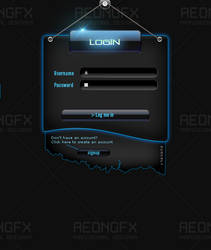 Premium Login V3 by GFX-AEON