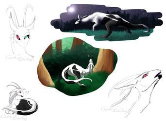 Hiileskivi Sketches by LoboSong