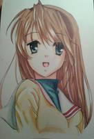 Tomoyo (Clannad) by jiangel