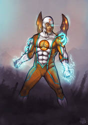 Particle Man by fo3the13th by Reldin-pq