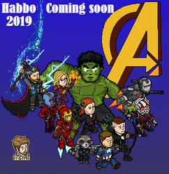 Habbo Avengers 4 coming soon by que-miras93