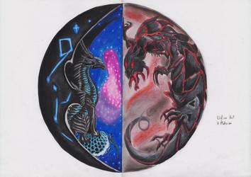 Order and Chaos (Asha and Urgash) by H-Maksim