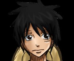 Luffy again by Orgi13xAkatsuki