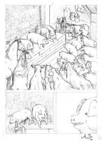 Animal Farm 03 Pencil by AndreaSchepisi