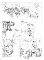 Animal farm 06 Pencil by AndreaSchepisi