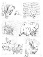animal farm 07 Pencil by AndreaSchepisi