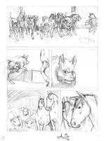 animal farm 08 Pencil by AndreaSchepisi
