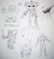 Metroid Collage by ROSchwoe