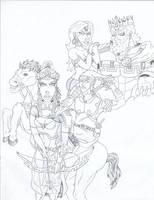 Hyrule at War by ROSchwoe