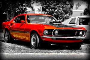 Mustang mach 1 1969 by RockRiderZ