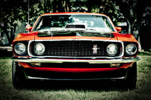 Mustang Mach 1 front view by RockRiderZ