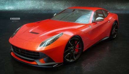 F12 Red by jackdarton