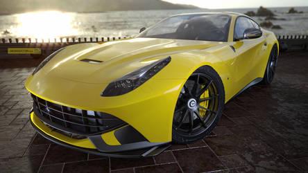 F12 Yellow shiny by jackdarton