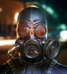 Gasmask by jackdarton