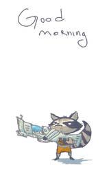Mornin' Rocket by Luinthond