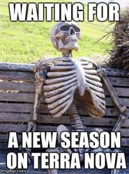 Waiting for the 2nd Season of Terra Nova by TuxedoToad
