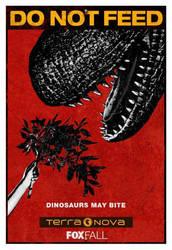 Terra Nova Poster 2: Dinosaurs May Bite by TuxedoToad