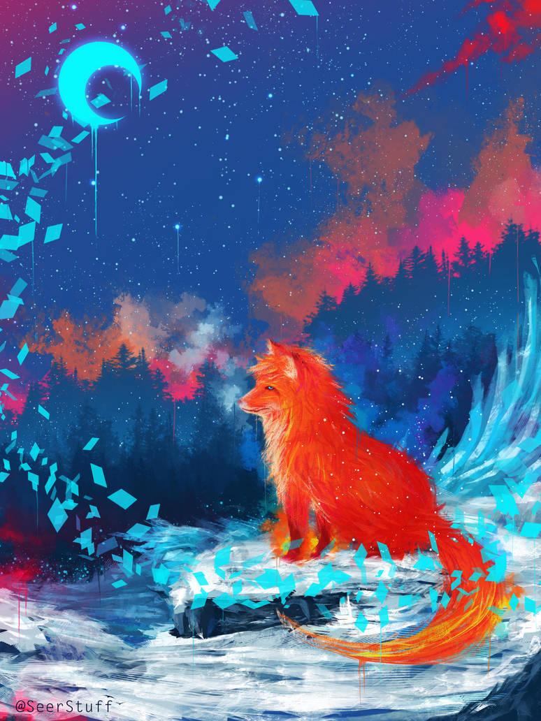Blazed Fox by SeerLight