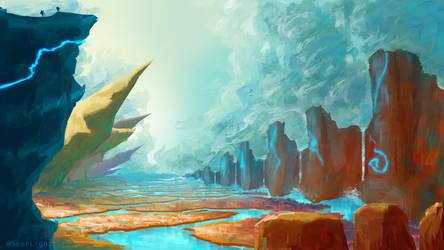 Obelisk Gorge by SeerLight