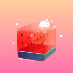 Melon Cube by SeerLight