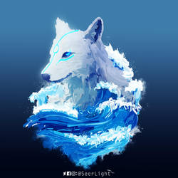 Wolf Wave by SeerLight