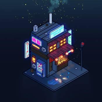 Cyberpunk Juusu by SeerLight