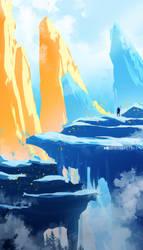 Golden Mountain by SeerLight