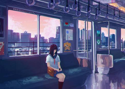 Metro Line by SeerLight