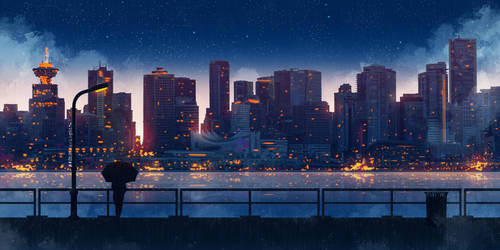 A Rainy Night by SeerLight