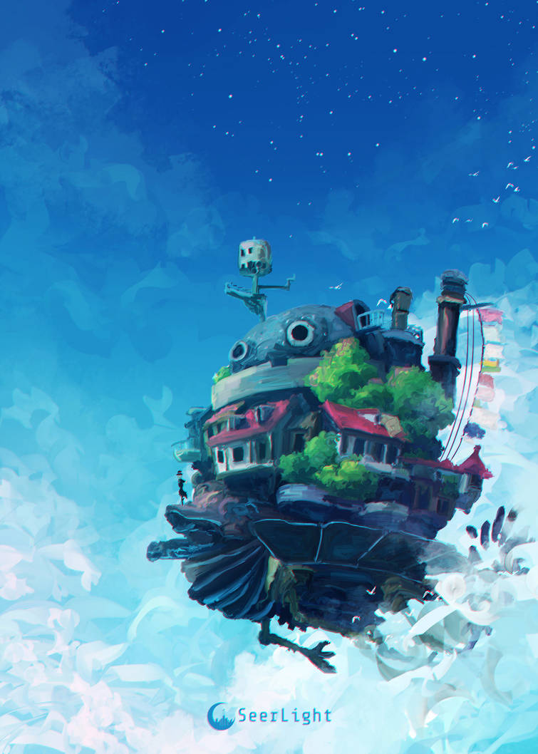 Howl's Moving Castle by SeerLight