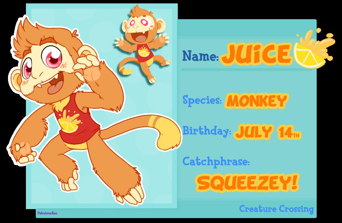 Creature Crossing - Juice by FabulousKas