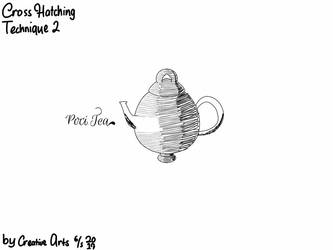 Poci Tea (Cross Hatching Tecnique) by CreativeArts723
