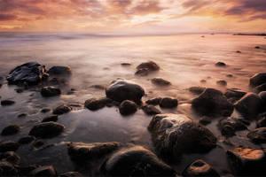 Mellow Sunset by GregoriusSuhartoyo